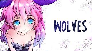 Nightcore - Wolves - (Lyrics)