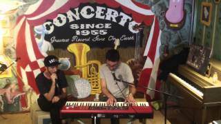 Oscar & the Wolf Instore @ Concerto 10/7/14