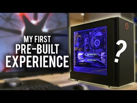 What's It Like To Receive A PRE-BUILT Gaming PC?