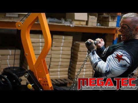 MEGATEC Triplex Multi Gym Demo by Lee Priest