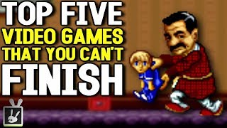 Top Five Games That You Can't Finish - rabbidluigi