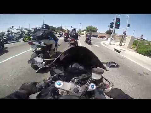 BIG San Bernardino Motorcycle Group ride with Snewj and Showtime! 2018!