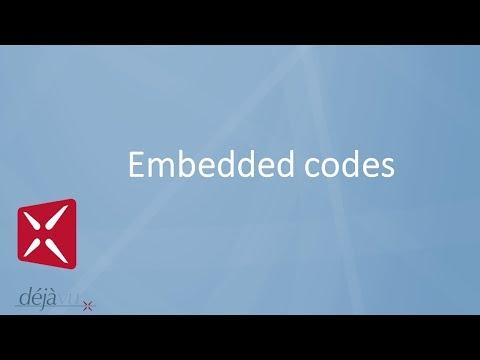 Déjà Vu - Embedded Codes