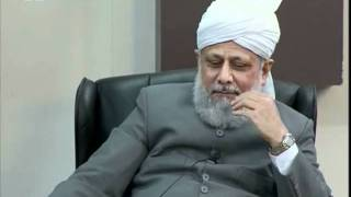 Gulshan-e-Waqfe Nau Lajna, 2 Jan 2011, Educational class with Hadhrat Mirza Masroor Ahmad(aba)