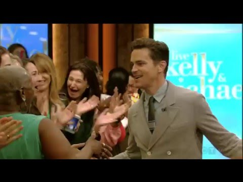 Matt Bomer entire interview part 1 (about his husband / vacation) - live with kelly and michael 2016