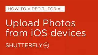 Uploading Photos from iOS Devices