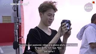 Gambar cover [VOSTFR] BOMB : Memory squirrel Jimin showing off acorn - BTS (방탄소년단)