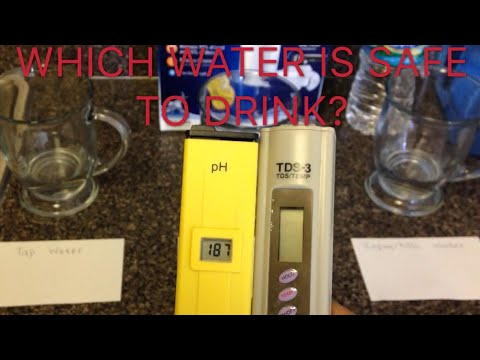 PH/TDS Water Testing! SAFE DRINKING WATER???