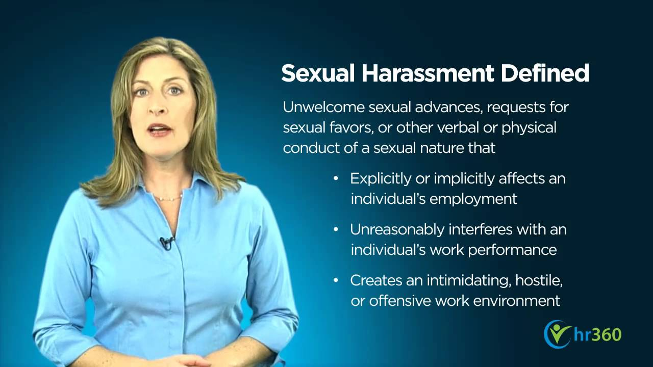 Sexual Harassment In The Workplace - Youtube-5582