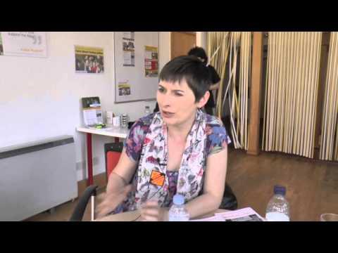 Caroline Pidgeon visit to Cambridge