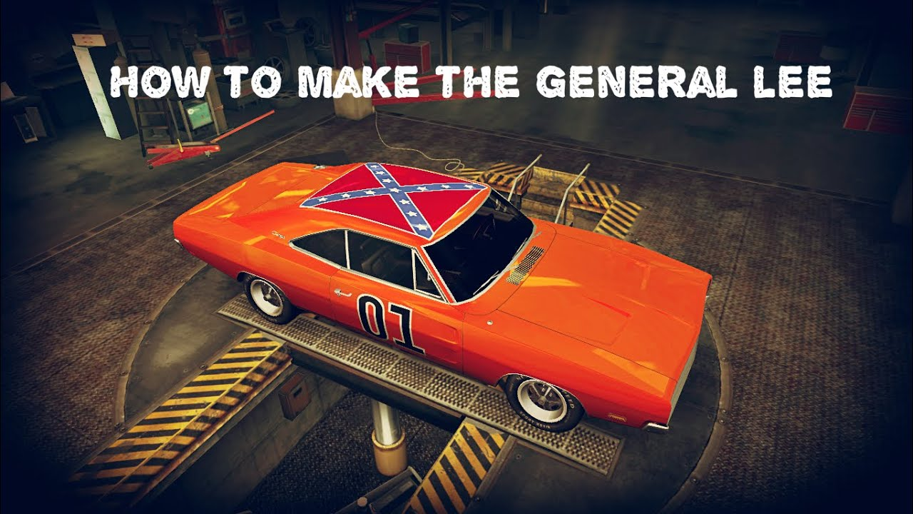 need for speed world how to make the general lee youtube. Black Bedroom Furniture Sets. Home Design Ideas