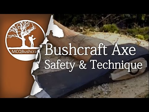 Bushcraft Axe Safety & Techniques
