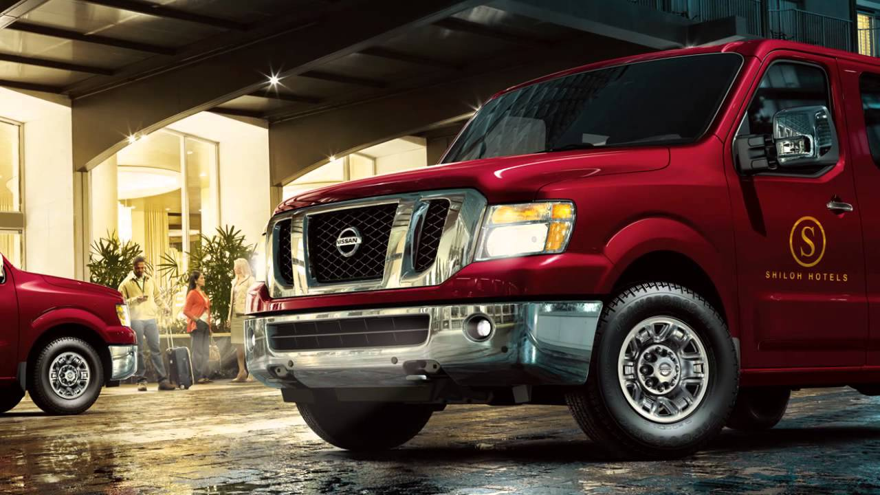 Nissan Nv Passenger Van >> 2016 Nissan NV Passenger Van - Headlights and Exterior Lights - YouTube