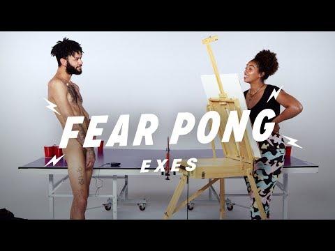 Exes Play Fear Pong (Sammy & Taylor) | Fear Pong | Cut