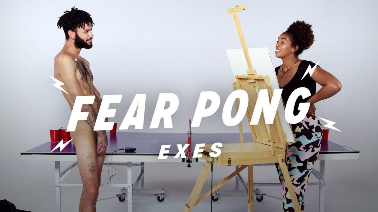 Exes Play Fear Pong (Sammy & Taylor)   Fear Pong   Cut