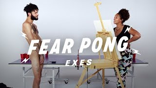 Exes Play Fear Pong (Sammy & Taylor) | Fear Pong | Cut