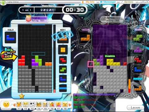 【Tetris】Tetris Online : 1 on 1 record (first to 20) (12/18)