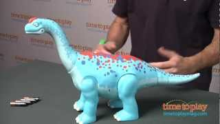 Dinosaur Train Walk & Stomp Arnie Argentinosaurus from Tomy