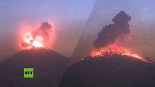 Alerta volcánica tras explosión del Popocatépetl en México