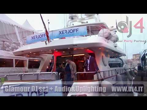 DJ set + service @Cannes per Evento Xerjoff - TFWA World Exhibition Conference