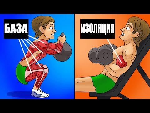Почему Базовые упражнения лучше для Набора Массы чем изолирующие.