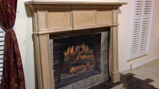 The Austin Mantel (maple) - Custom Fireplace Mantels
