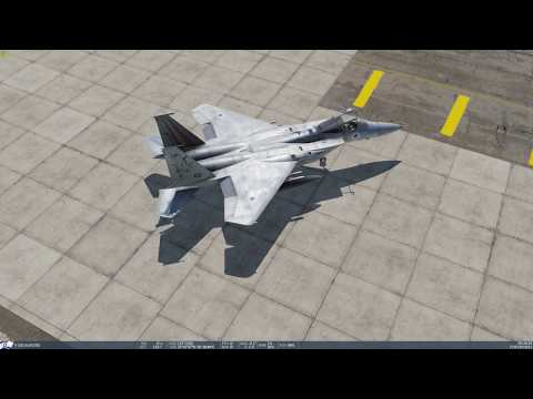 DCS First Flight in the Persian Gulf Map
