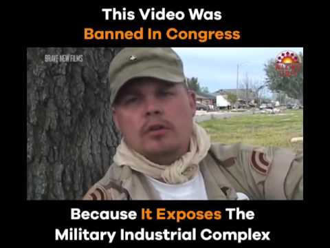 Banned Video Exposes The Military Industrial Complex