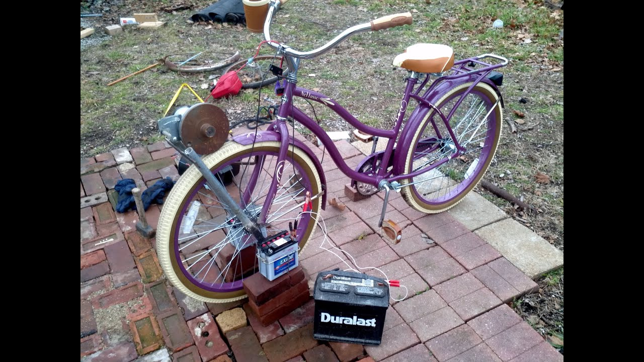 DIY: Electric Bicycle - YouTube