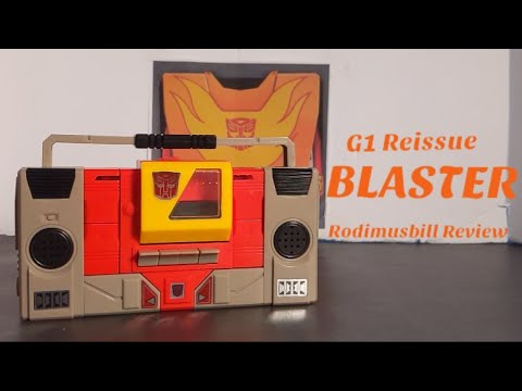 Transformers G1 Blaster Walmart Reissue Review By Rodimusbill