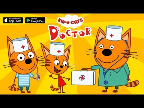 "Kid-E-Cats ""Doctor"" mobile games for kids 2019"