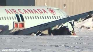 Air Canada flight crash lands in Halifax