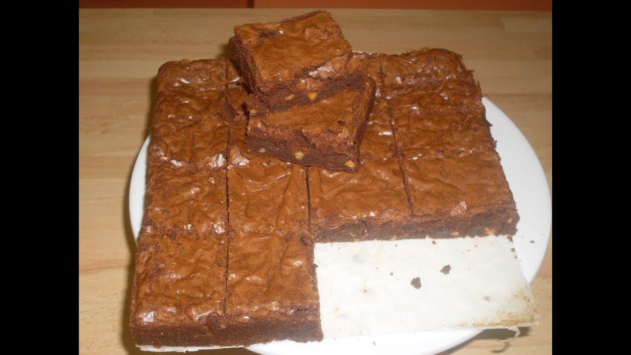recette des brownies traditionnels recette americaine du brownie youtube. Black Bedroom Furniture Sets. Home Design Ideas