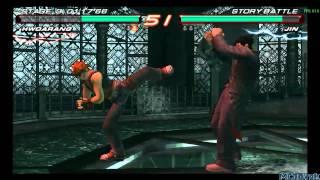 Tekken 6 PlayStation Portable Gameplay