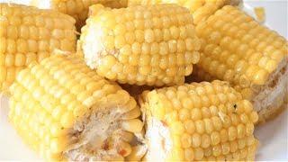 Вкусная кукуруза за 5 минут.Как приготовить кукурузу. Delicious corn for 5 minutes. How to cook corn