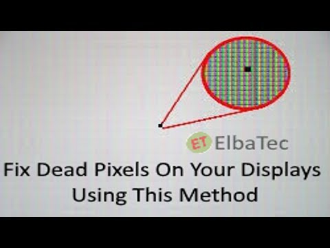 How To Fix Monitor Hot Pixels