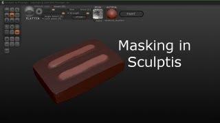 Masking In Sculptris