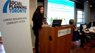 Kara Santokie on City of Toronto's Budget thru Gender Lens