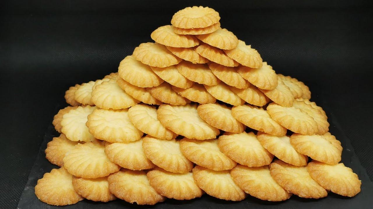 Las galletas se preparan en 15 minutos y con solo 3 ingredientes | Receta fácil rápido deliciosa