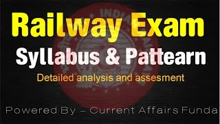 Railway Recruitment Board - How to prepare ( 2016 | Detailed syllabus ,pattern and tips )