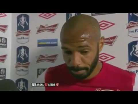 Thierry Henry post-Leeds Interview