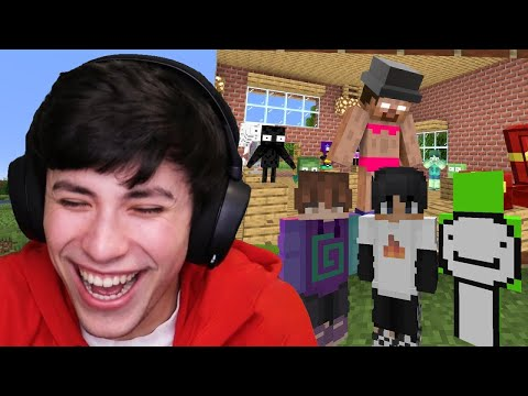 Minecraft, But Mobs Try And Kidnap My Friends