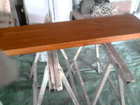 Teñir madera - YouTube