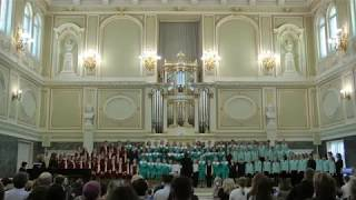 Павловский Фестиваль в Капелле. Выступление сводного хора 21 апреля 2019 года