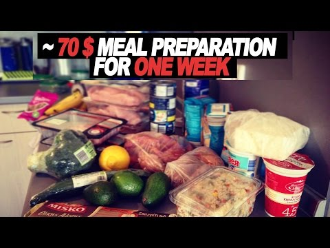 70$ Bodybuilding Food Preparation For The Whole Week - Part 1 - Cooking The Meat