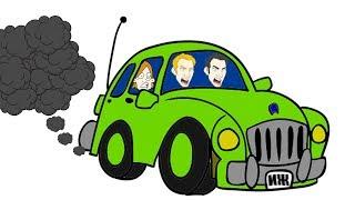 Я купил еще один Москвич - перегоняем машину в гараж. ЕСТЬ МАТЫ!!!