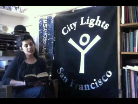 Gravity Goldberg reads The Diary of Anne Frank at City Lights Books