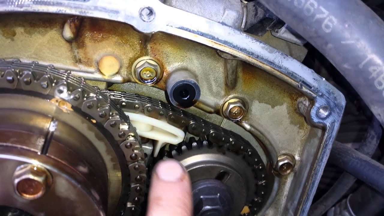 2004 nissan pathfinder 4 0 timing chain