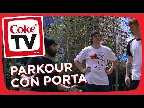 Curricé y Porta recorren Madrid haciendo Parkour | #CokeTVMoments | EP 1