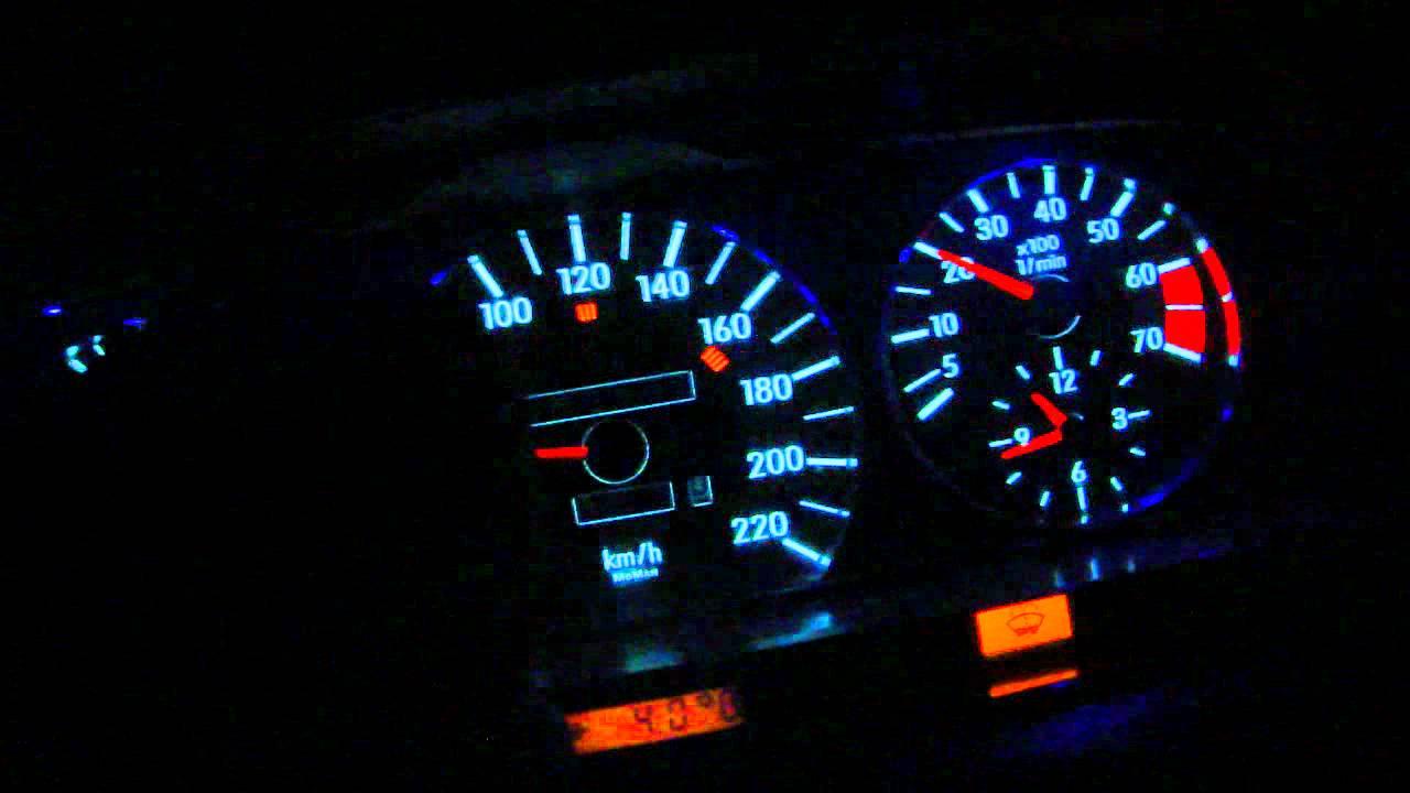 Mazda 323 подсветка приборной панели